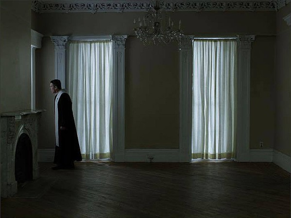 Ethan Hawk stars as a priest in existential crisis in First Reformed.