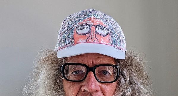 John McIntire custom made a cap for We Saw You - JON W. SPARKS