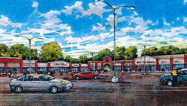 Southgate renovation rendering - BELZ