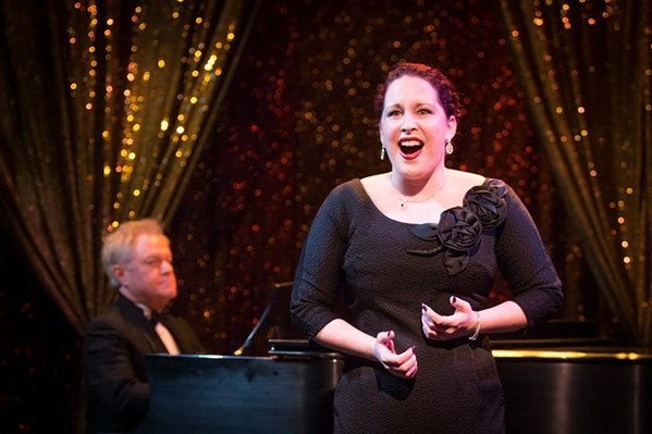 Emily Chateau sings. Gary Beard plays.