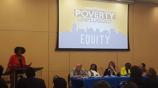Panelists featured in the series' first installment on equity - UNITED WAY