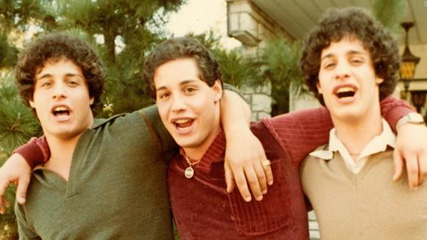 David Kellman, Robert Shafran, and Eddy Galland are the subjects of the documentary Three Identical Strangers.