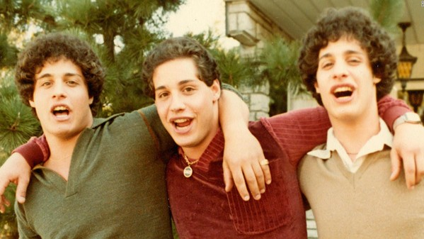 David Kellman, Robert Shafran, and Eddy Galland are the subjects of the documentary Three Identical Strangers.