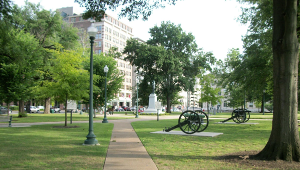 Former view of Memphis Park