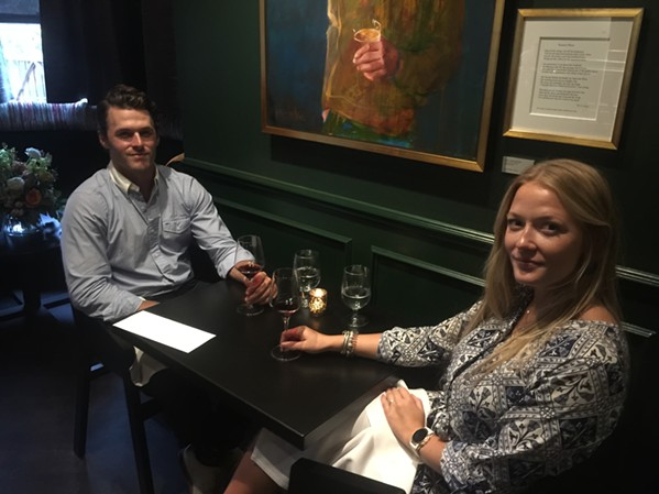"Guests got a look at the ""new"" Restaurant Iris at a soft opening Aug. 17. - MICHAEL DONAHUE"