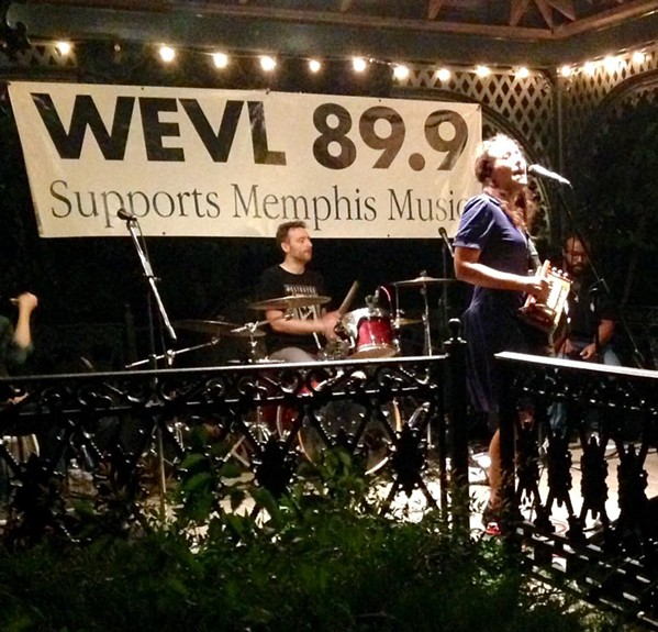 Marcella & Her Lovers play this year's Blues on the Bluff, WEVL's largest annual fundraiser. - WEVL/FACEBOOK