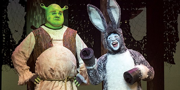 Shrek at Theatre Memphis - JOEY MILLER