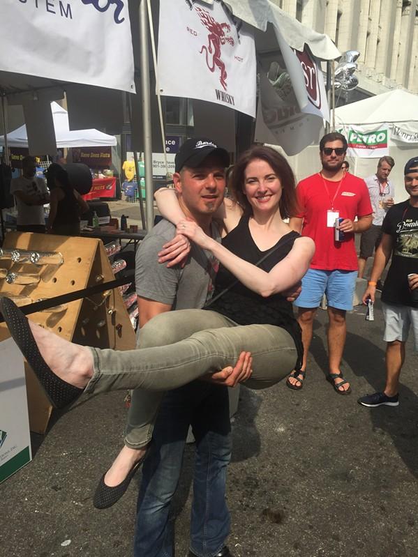Bardog owner Aldo Dean and his wife, Caroline Dean. - MICHAEL DONAHUE