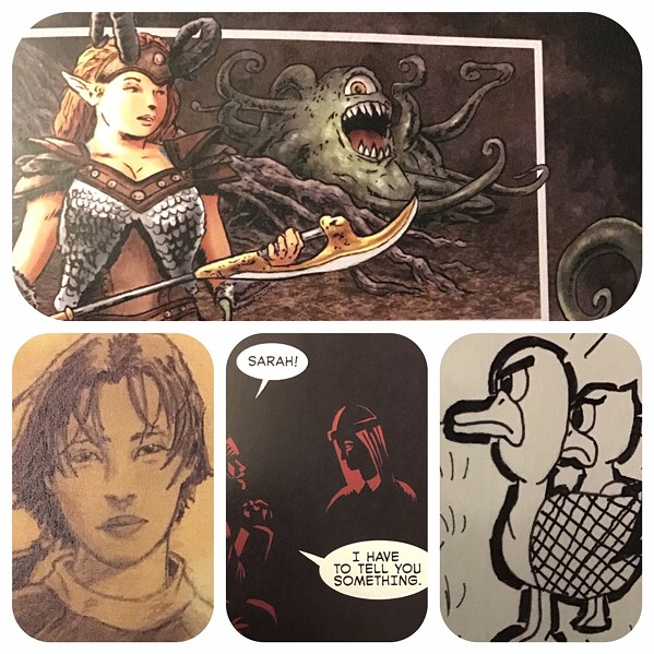 Samples from 901 Comics Anthology Vol. 2