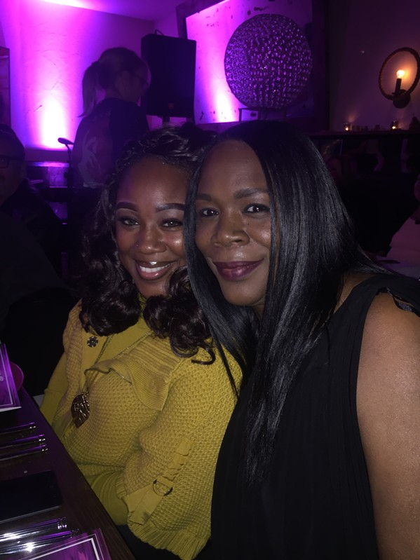 Nikki Hayes McGhee and Veronic Hayes - daughters of the late Isaac Hayes - were at Heart Full of Soul. - MICHAEL DONAHUE