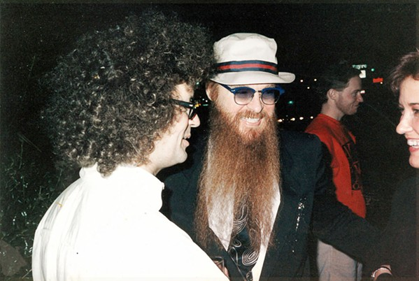"""Billy Gibbons from ZZ Top was a guest one year at  """"A Christmas Party,"""" an annual Midtown party Peggy Burch and I hosted for about a decade from the 1970s to the late 1980s."""