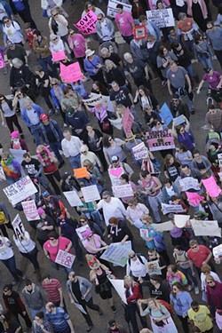 Women's March 2018 - JUSTIN FOX BURKS