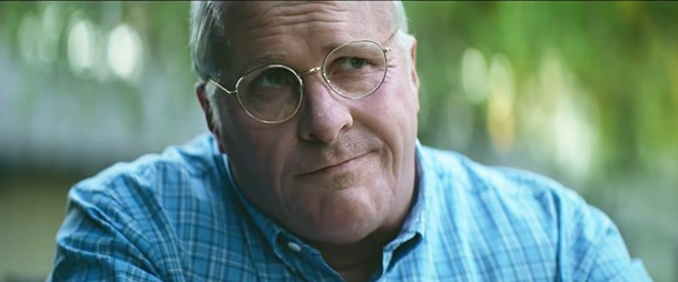 Believe it or not, this is Christian Bale as Dick Cheney in Vice