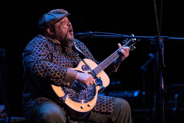 2018 solo International Blues Challenge winner Kevin B.F. Burt is now a BMA nominee - TOM DAVIS