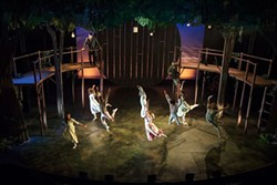 Tuck Everlasting on stage at Playhouse on the Square - CARLA MCDONALD