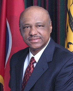 Councilman Joe Brown was at the center of Tuesday's heated conversation. - CITY OF MEMPHIS
