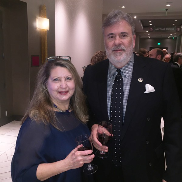 Peggy Killett and Wes Parker were at the Page Robbins Gala. - MICHAEL DONAHUE