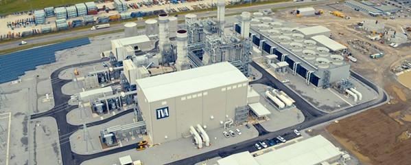 TVA's new Combined Cycle Plant. - TVA