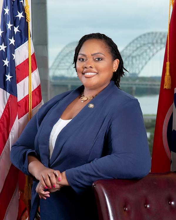 Shelby County Commissioner Tami Sawyer