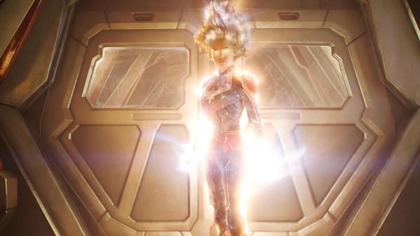 Sometimes Brie Larson glows.