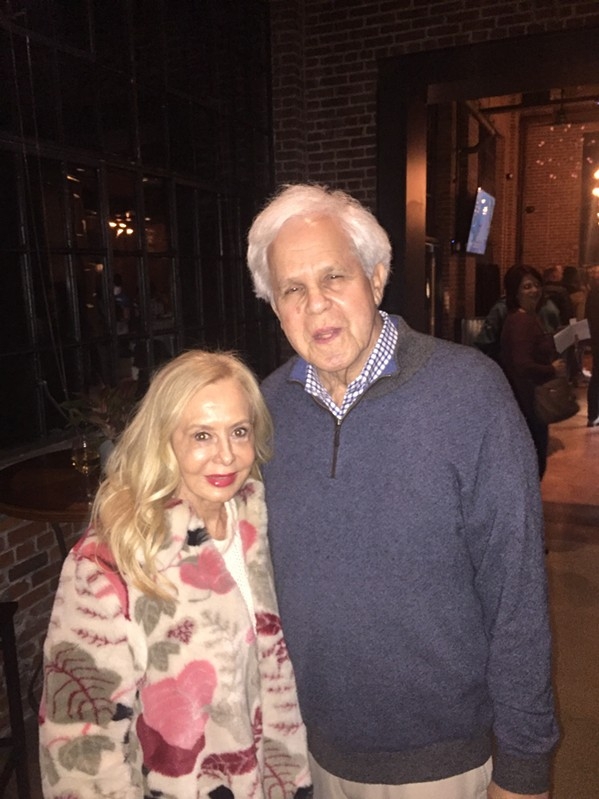 Sue Layman Lightman and Steve Lightman at the Malco Powerhouse opening. - MICHAEL DONAHUE