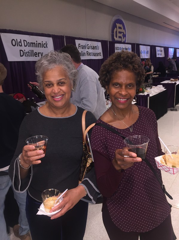 Linda Tharp and Delise Casey were at A Taste of CBHS. - MICHAEL DONAHUE