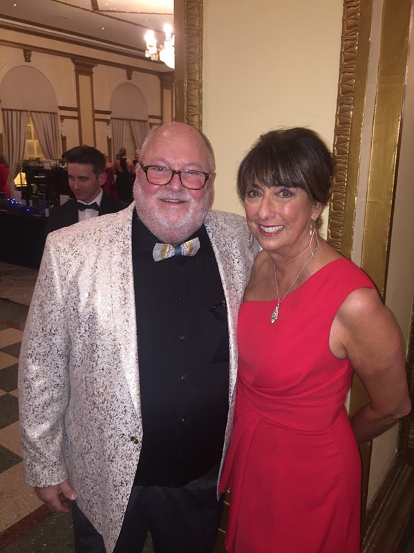Dr. Roy and Lydia Bors Koefoed at the Heart Ball. - MICHAEL DONAHUE