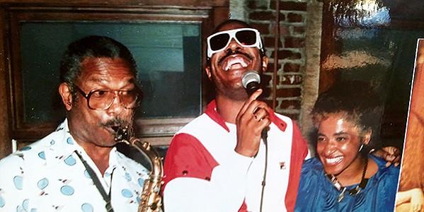 Herman Green, Stevie Wonder, - and Joyce Cobb