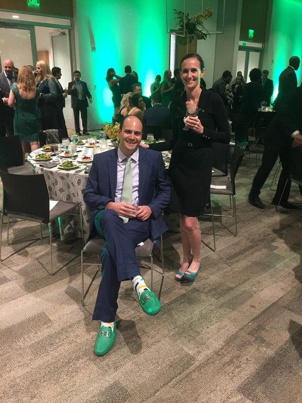 Patrick and Carrie Galphin were at GreenShoe Gala. - MICHAEL DONAHUE