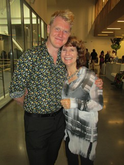 Steven McMahon and Dorothy Gunther Pugh at grand opening of new Ballet Memphis headquarters. - MICHAEL DONAHUE