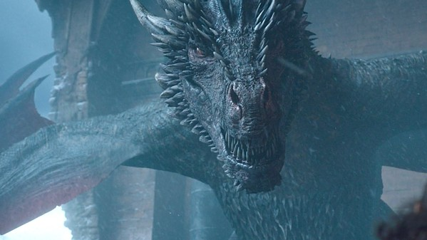 Drogon is silently judging you.