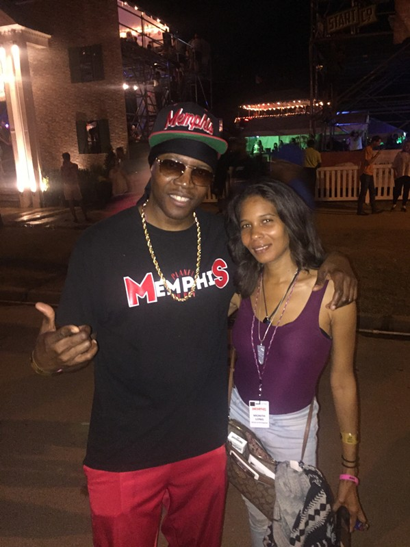 Al Kapone and Oona Mitchell Bean at Memphis in May World Championship Barbecue Cooking ContestAl - MICHAEL DONAHUE