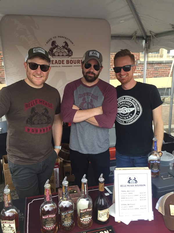 Tennessee Whiskey Trail's Spirits and Soul was presented by Old Dominick Distillery.  It was held April 26th and 27th. - MICHAEL DONAHUE