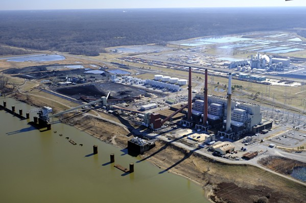 Aerial shots of TVA's Memphis power plants. - SOUTHERN ENVIRONMENTAL LAW CENTER