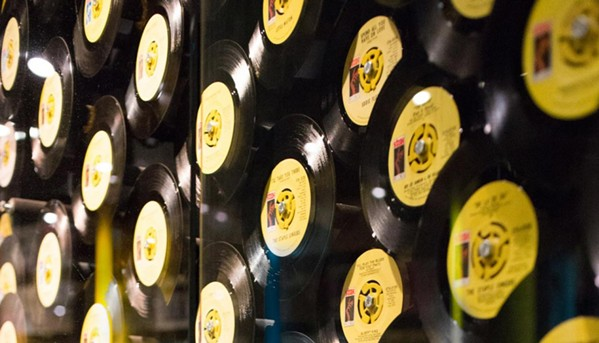Classic singles from the heyday of soul music at Stax - COURTESY STAX MUSEUM OF AMERICAN SOUL MUSIC