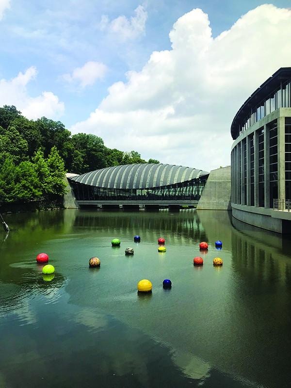 Crystal Bridges Museum of American Art - BRUCE VANWYNGARDEN