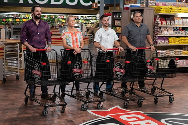 """Keith Clinton on """"Guy's Grocery Games."""""""