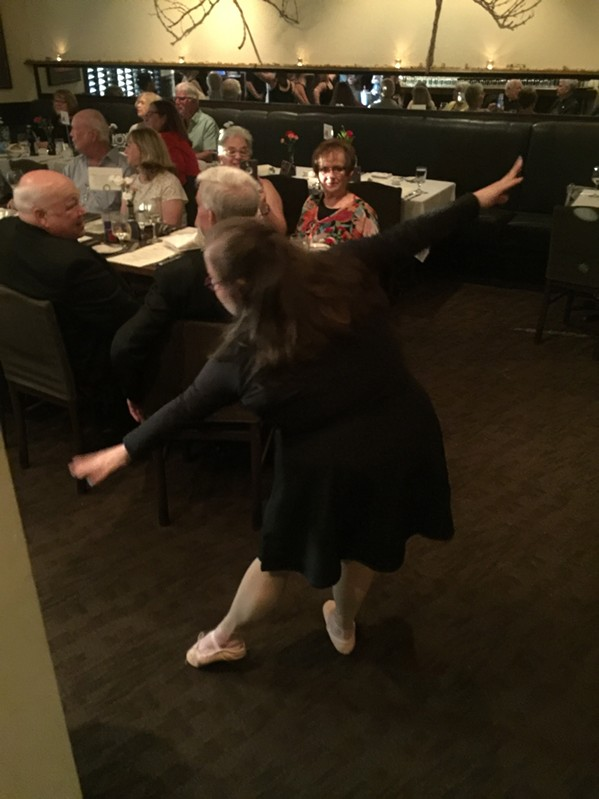 Stepping Out at Napa Cafe - MICHAEL DONAHUE