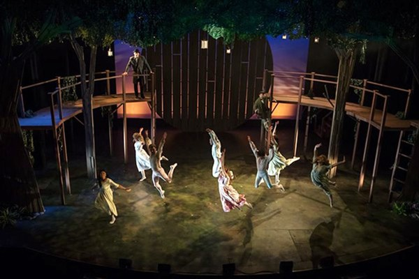 Playhouse on the Square's Tuck Everlasting won two Ostrander Awards. - CARLA MCDONALD