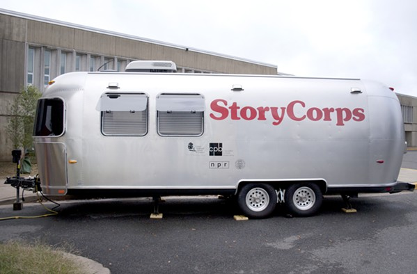 StoryCorps' mobile recording booth