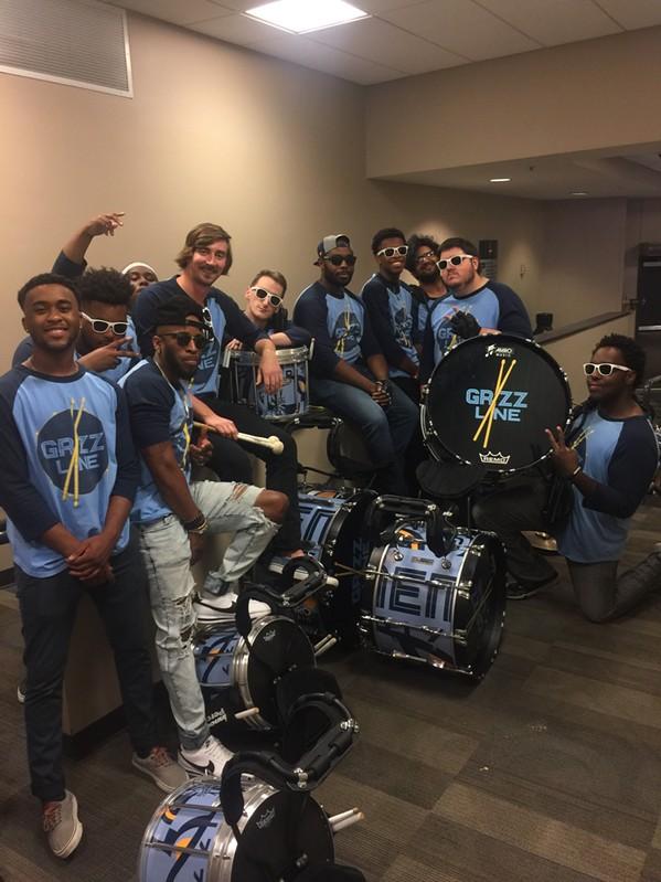 Memphis  Grizzline Drumline at Exposure - MICHAEL DONAHUE