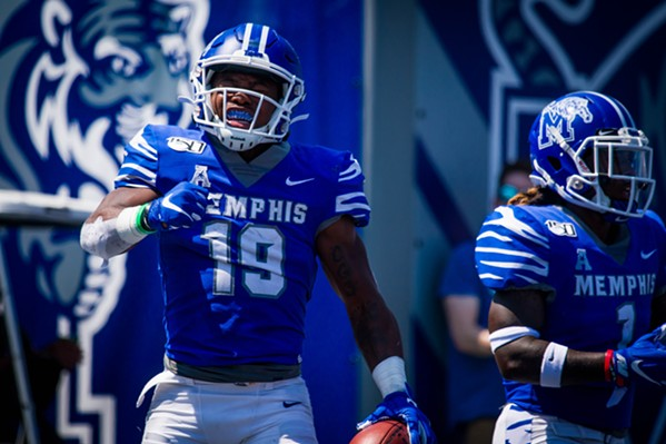 Memphis Routs South Alabama, 42-6