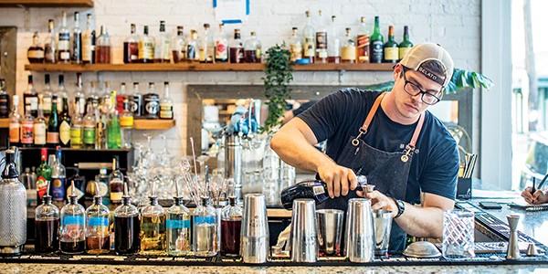 Giddy Up, 409: The Bar at Puck Food Hall