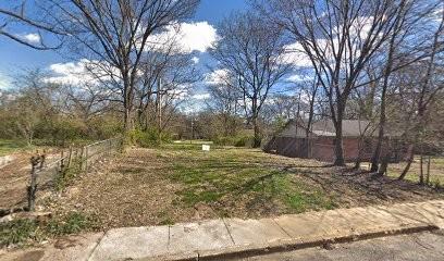 Site of South Memphis Future and Funk Community Art Garden - GOOGLE MAPS