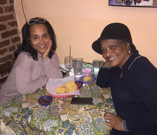 Lori Miller and Carol Miller at Molly's La Casita. - MICHAEL DONAHUE