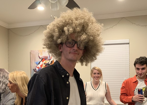 No. This isn't me. It's Avery Poynter at a Halloween party. - MICHAEL DONAHUE
