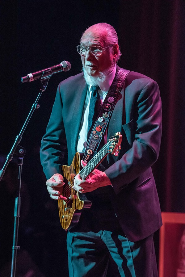 Steve Cropper - COURTESY MEMPHIS MUSIC HALL OF FAME
