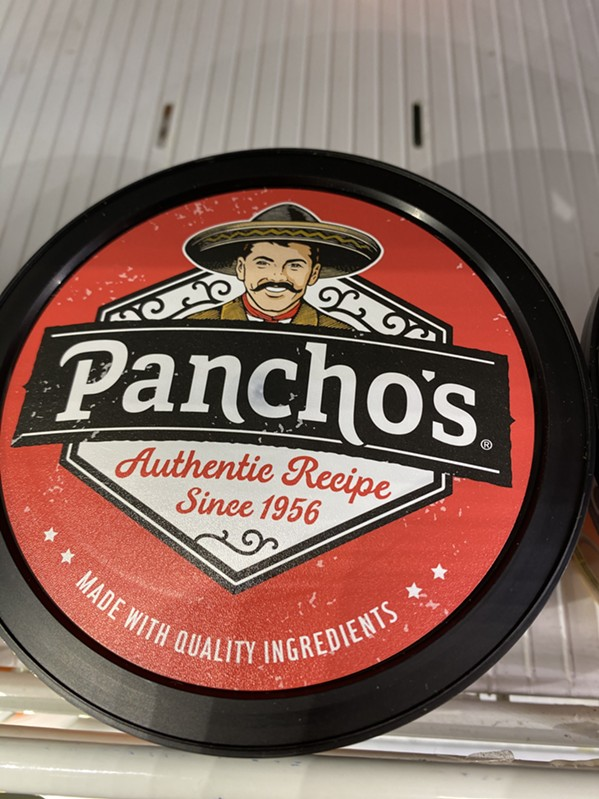 The new Pancho's man. - TOBY SELLS