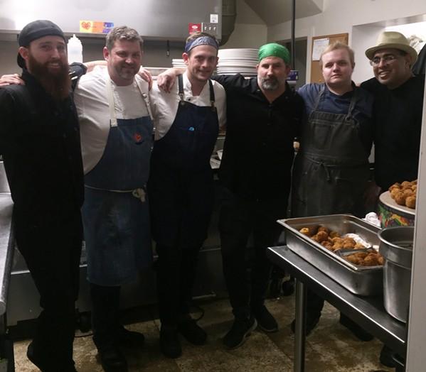Chef Partnership Dinner at Caritas Community Center &  Cafe. - MICHAEL DONAHUE