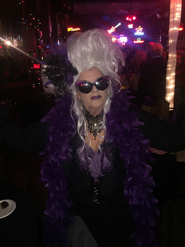 Melanie Pafford, who co-founded Streetdog Foundation with her husband, Kent, was at Streetdog's recent Howl at the Moon fundraiser at The Warehouse. - 4 - MICHAEL DONAHUE